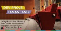 Ataşehir Kültür Merkezi - Ataşehir Belediyesi 650 Kişilik Tiyatro Salonu Projesi